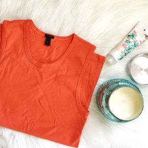 {j crew} perfect fit shell